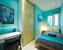 Stanza singola in appartamento condiviso vicino al Parc di Montjuic
