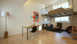 Ramblas deluxe ; Duplex con terraza