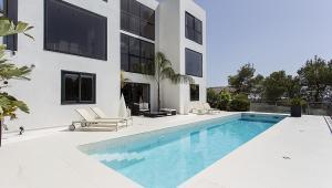 Casa de diseño minimalista, arquitectura y diseño