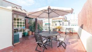 Ático con 2 terrazas y Jacuzzi en El Eixample