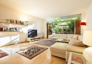 Duplex with Garden Passeig de Gracia