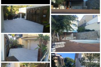 Bela casa com piscina evento Castelldefels