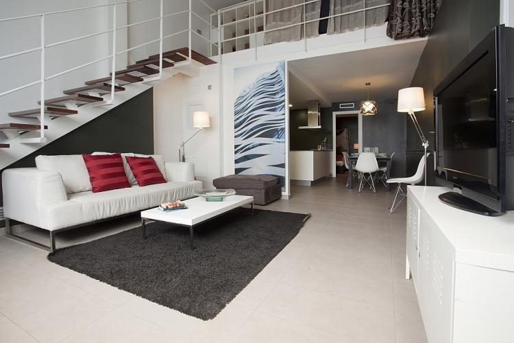 Alquiler pisos dúplex en Barcelona