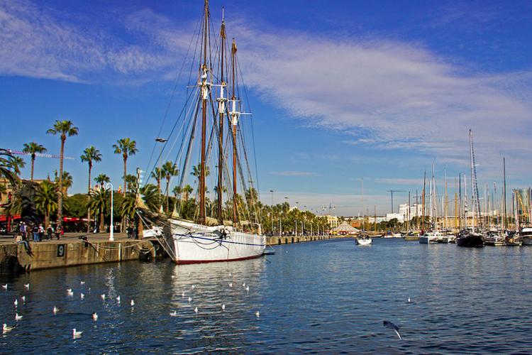 Harbour of Barcelona