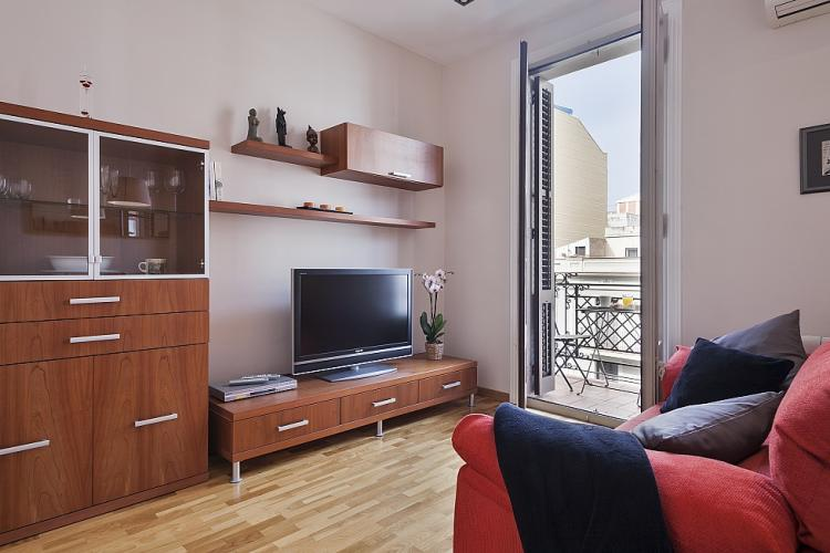 The apartment is fully equipped with WiFi, A/C, heating, TV, etc.