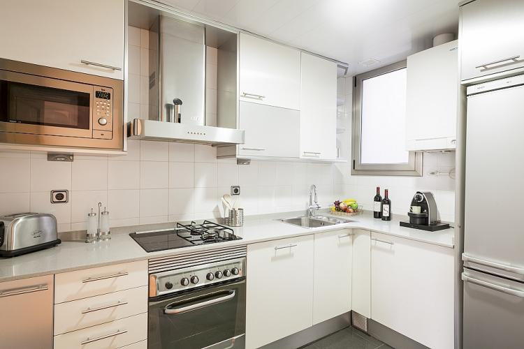 Equipped kitchen with all the necesary things during your stay