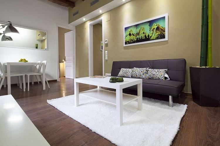 Comfortable and modern living area.