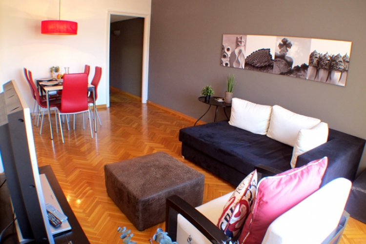 Encantador piso por dias.