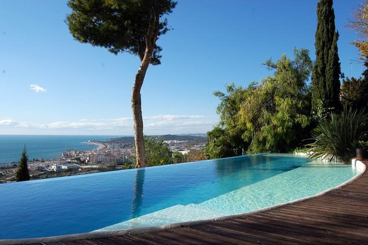 Maison De Luxe Avec Piscine Et Vue Sur La Mer Sitges