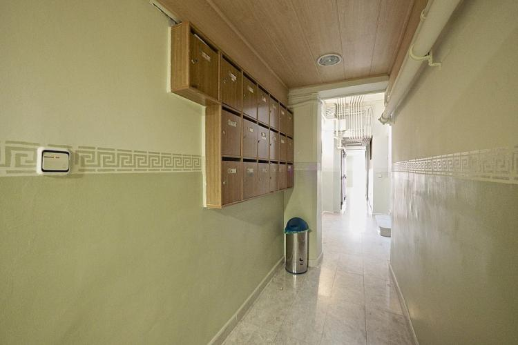 Main corridor of building.