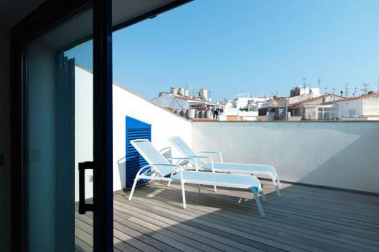 Holiday duplex to rent in Sitges centre