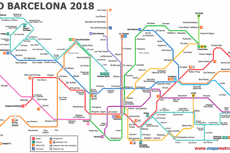 Las lineas de metro mas cercanas son Jaume I y Barceloneta