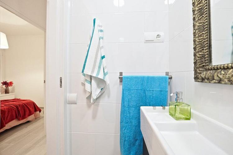 This WC can be easily accessed by all three bedrooms.