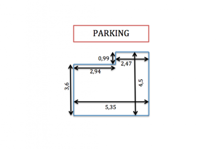 Here re the floor plans of the parking lot.