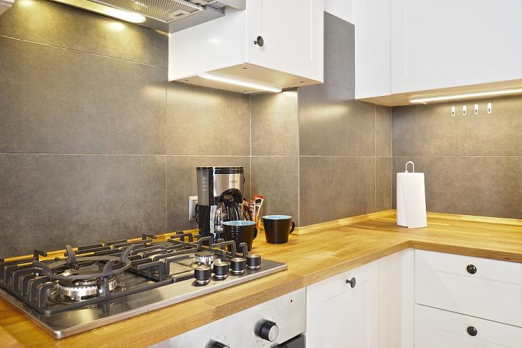 The kitchen comes fully equipped with everything you will need to cook your next great meal.