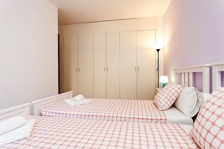 An extra bed can be added in this room. It can accommodate 3 people.