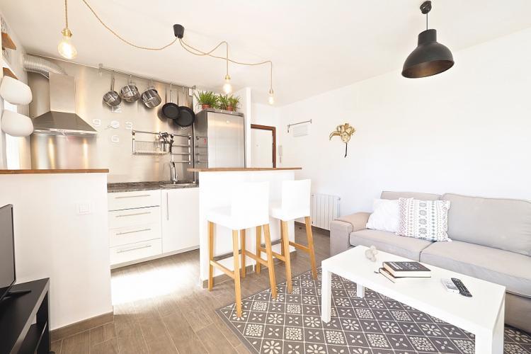 Charmant zen appartement met slaapkamers barcelona home