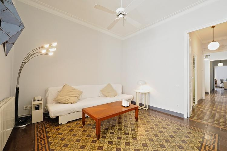 A gorgeous private living area perfect for a couple to share.