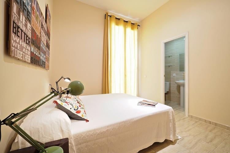 The double bedroom comes with access to an en suite bathroom, for additional comfort and privacy.