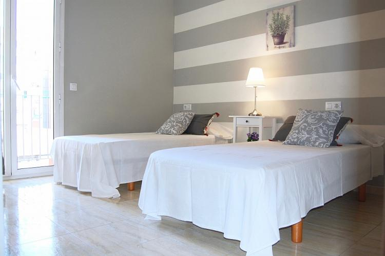 An elegant and enlightened double room