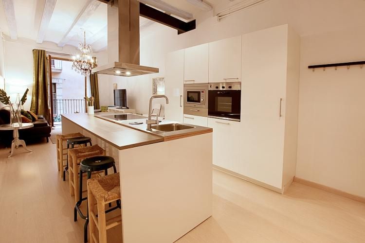 Fully equipped kitchen with everything you need for cooking your favourite meals