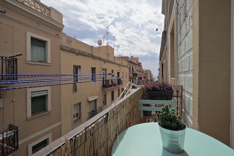 Vistas de las famosas calles de Barcelona