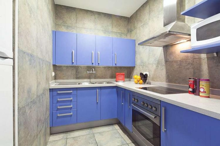 Fully equipped kitchen perfect for preparing meals throughout your stay.