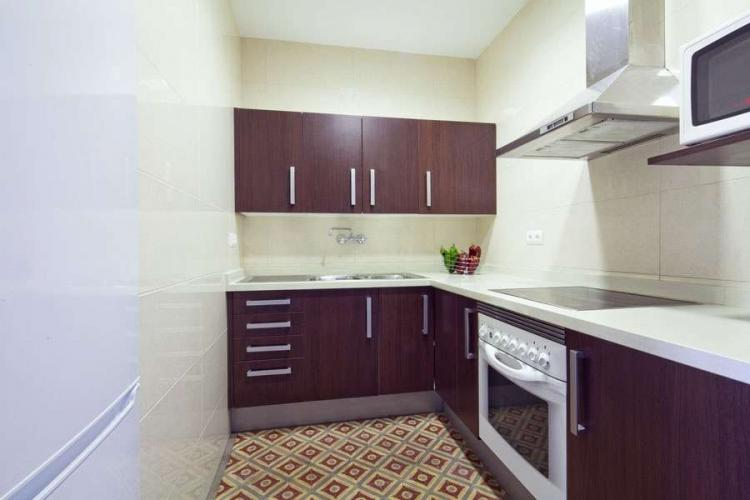 Fully equipped kitchen perfect for preparing meals throughout your stay