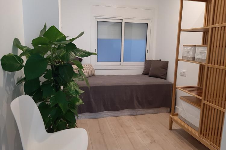 Habitación individual con cama de 90 cm