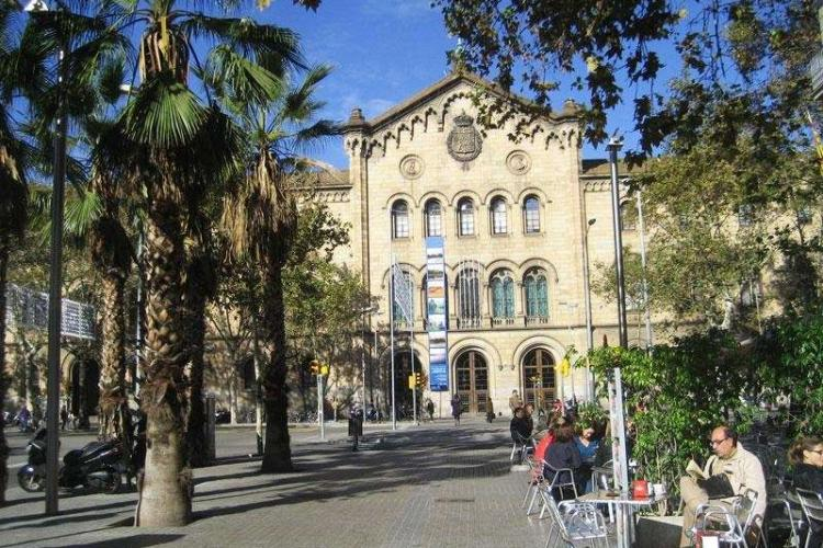 The apartment is located at Plaza Universitat which is very central and near  to everything.