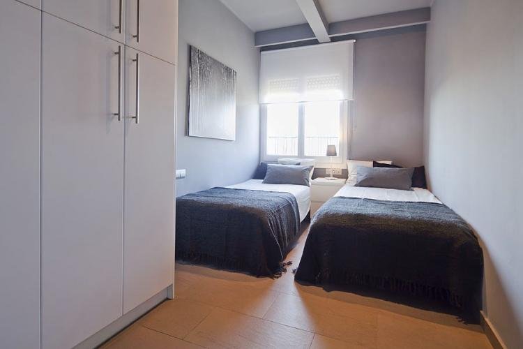All the bedrooms have big windows allowing the light to enter.