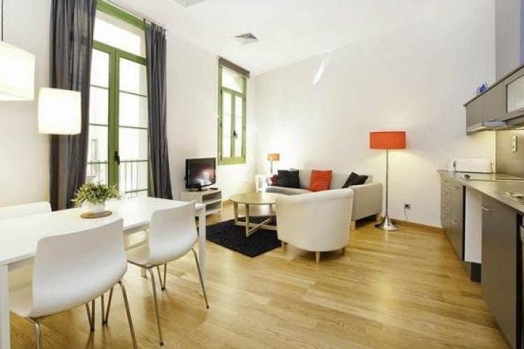 Bright and modern apartment for rent with balconies, Barrio Gótico, Barcelona