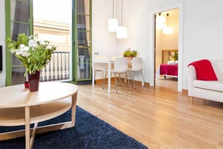Alojamiento espacioso y luminoso cerca de la Rambla, Barcelona