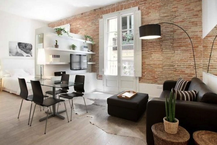 Modern and spacious loft for rent in the center of Barrio Gótico, Barcelona