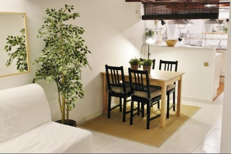 Céntrico e iluminado apartamento para alquiler en el Barrio del Born, Barcelona
