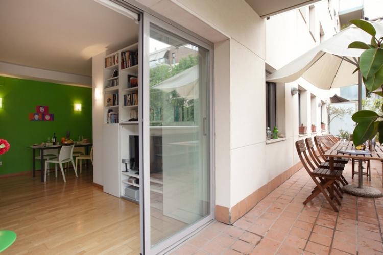 Apartamento para alquiler con terraza playa Barcelona