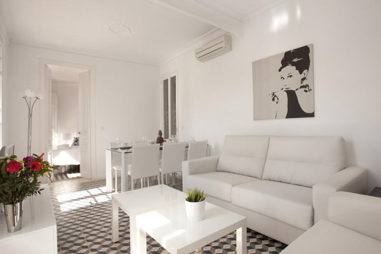 Apartamento para alquiler en Barcelona para grupos
