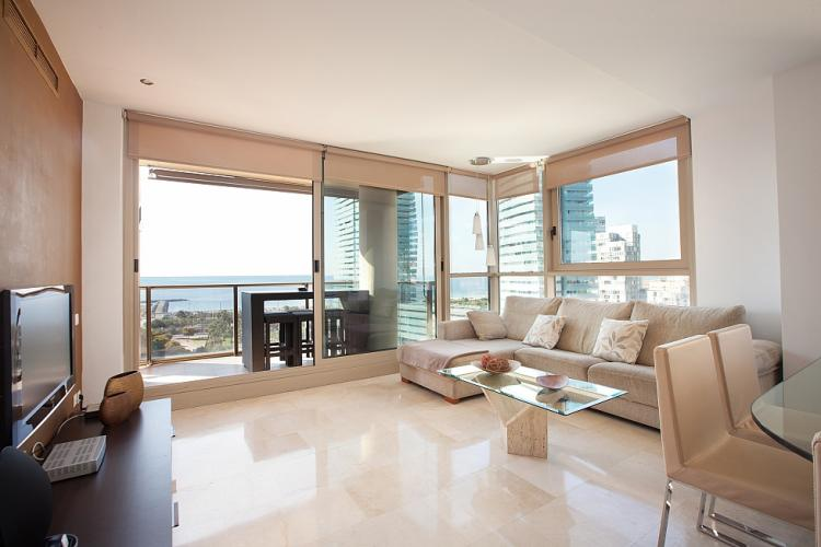 Luxuous apartment at Diagonal del Mar