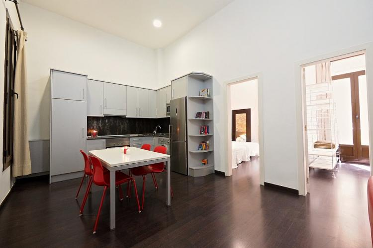 A spacious apartment