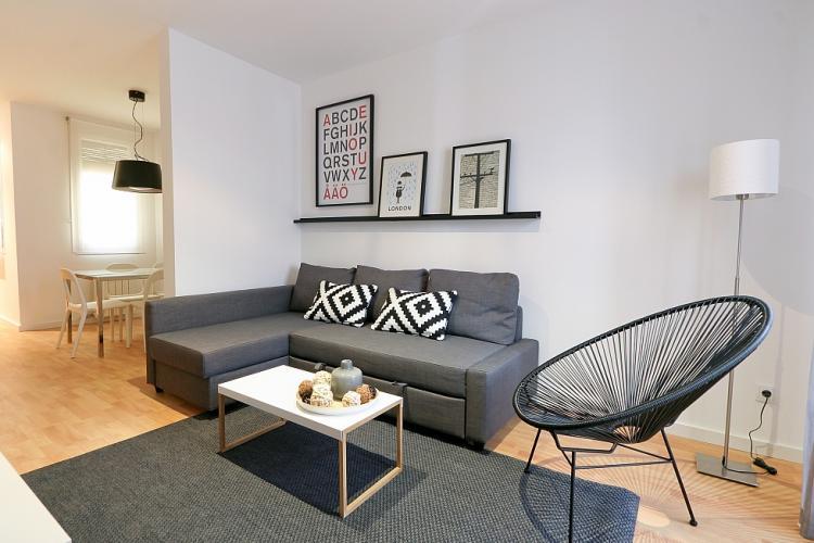 Alquiler de apartamento en Eixample de Barcelona