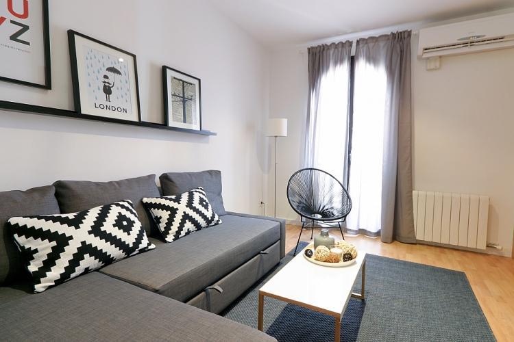 Bonito piso con 3 habitaciones en Barcelona