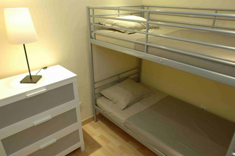 Another bedroom with bunk beds