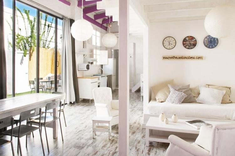 Casa con jard n y piscina privada en barcelona barcelona for Alojamiento con piscina privada