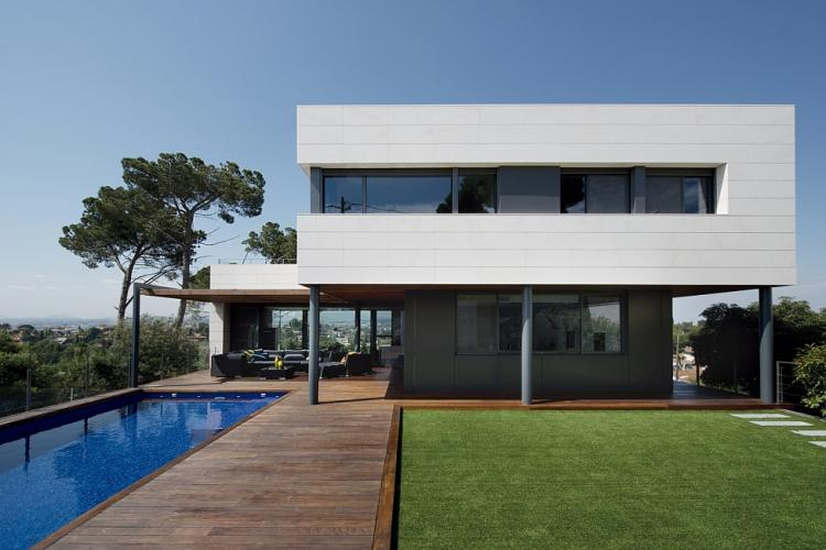 Casa de luxo com piscina e vistas espetaculares perto de barcelona barcelona home - Casas en alquiler cerca de barcelona ...