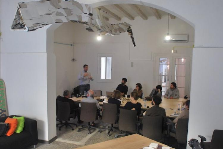Co-working and event space in Poblenou