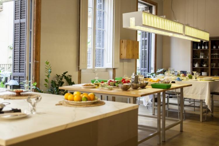 Espacio culinario para eventos y publicidad