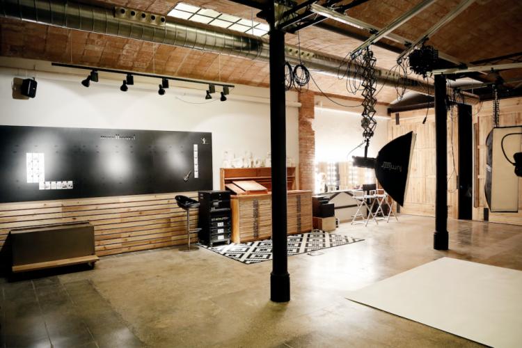 Moderno espacio para rodajes