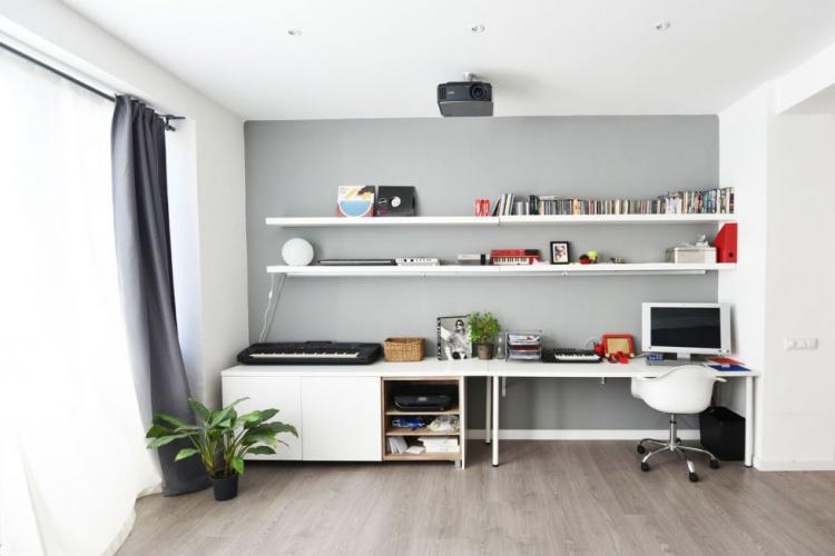 Loft with music studio
