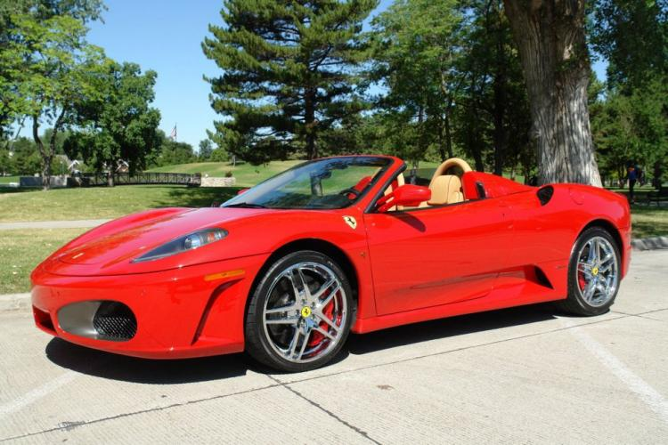 Luxurious cars for events, Ferrari F430