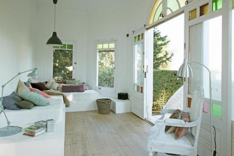 Modernistiske hus med hage basseng og terrasse for for Casa jardin barcelona
